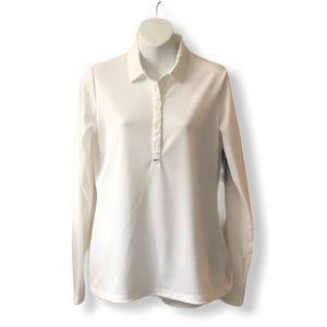Nike Women's Golf Dri-Fit Long Sleeve Polo Shirt
